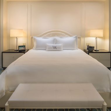Cuddle up in our premium beds with magical mattresses and plush bedding
