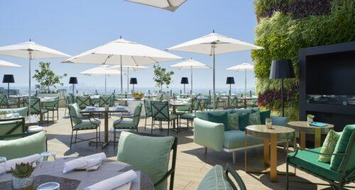 Beverly Hills Rooftop Bar Waldorf Astoria